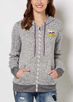Minnesota Vikings Zip Sweater Hoodie