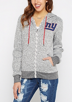 New York Giants Zip Sweater Hoodie