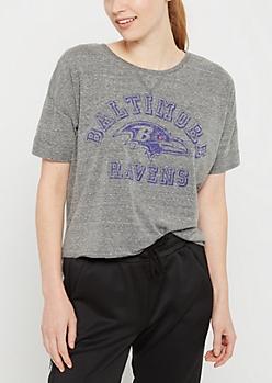 Baltimore Ravens Crop Tee