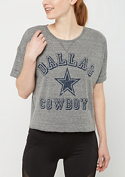 Dallas Cowboys Crop Tee