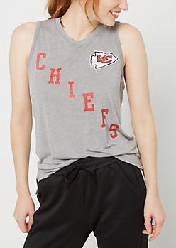 Kansas City Chiefs Vintage Logo Tank Top