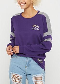 Baltimore Ravens Drop Yoke Sweatshirt