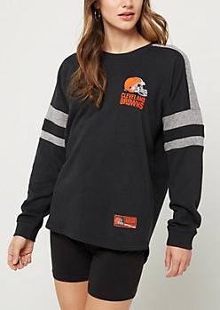 Cleveland Browns Drop Yoke Sweatshirt
