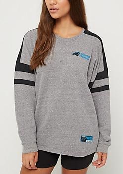 Carolina Panthers Drop Yoke Sweatshirt