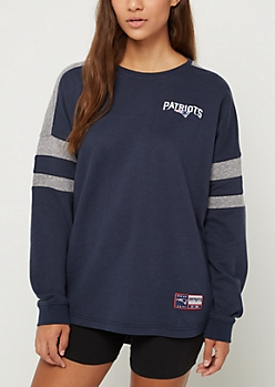 New England Patriots Drop Yoke Sweatshirt