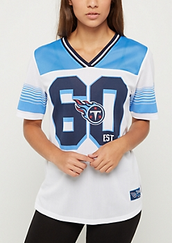Tennessee Titans Striped Football Jersey