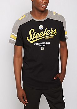 Pittsburgh Steelers Athletic Striped Tee