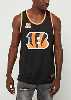 Cincinnati Bengals Mesh Logo Jersey Tank