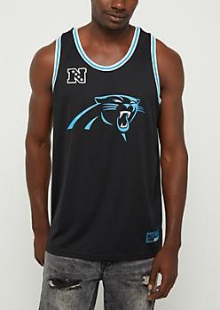 Carolina Panthers Mesh Logo Jersey Tank
