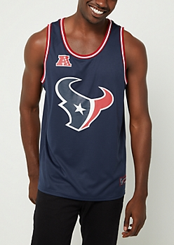 Houston Texans Mesh Logo Jersey Tank