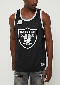 Oakland Raiders Mesh Logo Jersey Tank