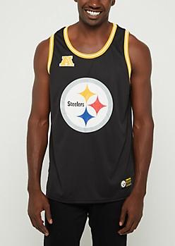Pittsburgh Steelers Mesh Logo Jersey Tank