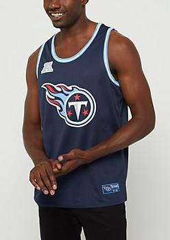 Tenessee Titans Mesh Logo Jersey Tank