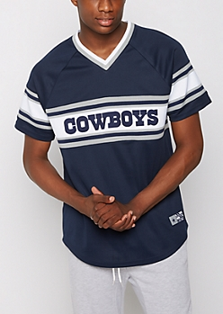 Dallas Cowboys Knit Striped Tee