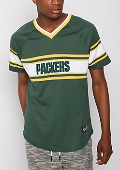 Green Bay Packers Knit Striped Tee