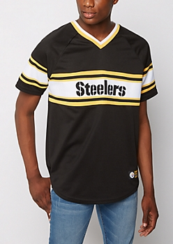 Pittsburgh Steelers Knit Striped Tee