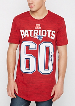 New England Patriots 1960 Space Dyed Tee