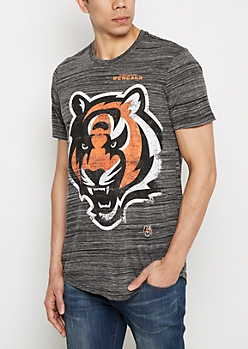 Cincinnati Bengals Distressed Logo Tee