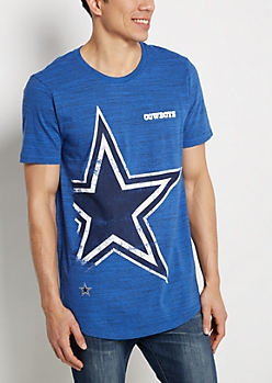 Dallas Cowboys Distressed Logo Tee