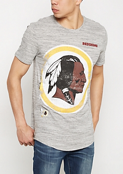 Washington Redskins Distressed Logo Tee