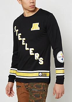 Pittsburgh Steelers Hockey Jersey Tee