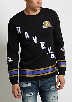 Baltimore Ravens Hockey Jersey Tee