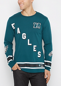 Philadelphia Eagles Hockey Jersey Tee