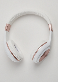 Rose Gold Wireless Headphones
