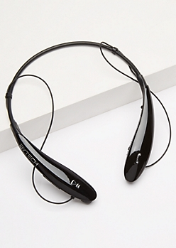 Black Wireless Stereo Headset