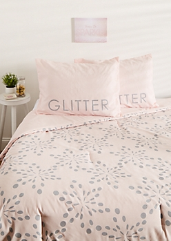 Full - Dream In Glitter 3-Piece Comforter Set