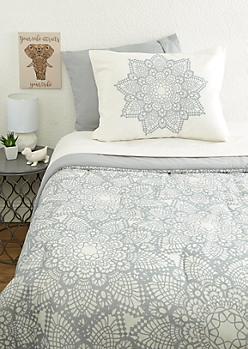 Twin Mandala 5-Piece Comforter Set