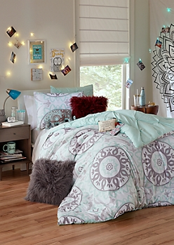 Twin XL Mandala 2-Piece Comforter Set