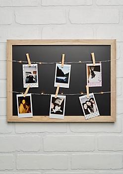 Black LED Clip Frame