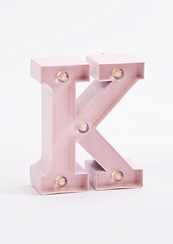K Light Up Marquee Letter