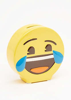 Tears of Joy Emoji Coin Bank
