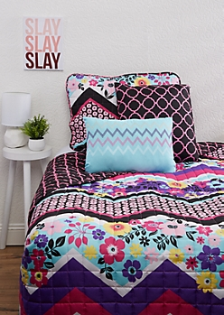 Twin XL - Avila 4-Piece Quilt Set