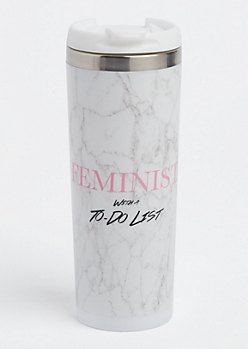 Feminist With A To Do List Insulated Travel Mug