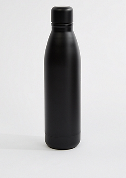 Black Insulated Water Bottle