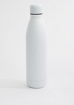 White Insulated Water Bottle