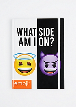 What Side Am I On Journal by Emoji