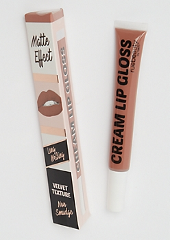 Medium Brown Cream Lip Gloss