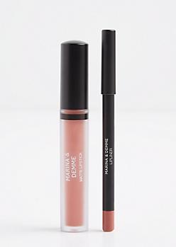 Terracotta Matte Liquid Lipstick & Lip Liner
