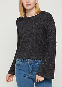Black Fleece Soft Knit Sweater