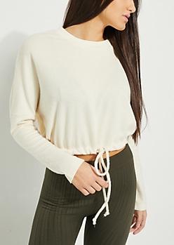 Ivory Hacci Sweatshirt