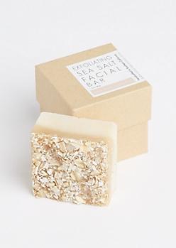 Exfoliating Sea Salt Facial Bar By Honey Belle