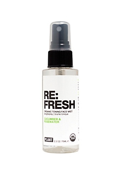 RE: FRESH Organic Toning Facial Mist By Plant Apothecary