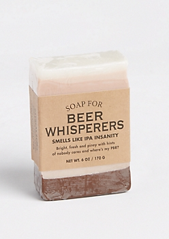 Soap for Beer Whisperers By Whiskey River Soap Co.
