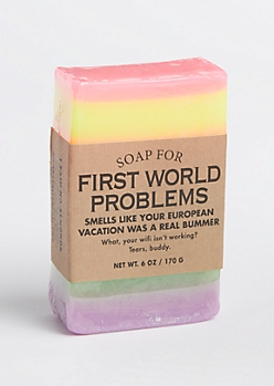 Soap for First World Problems By Whiskey River Soap Co.