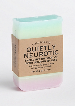 Soap for the Quietly Neurotic By Whiskey River Soap Co.