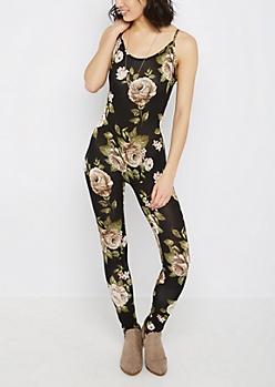 Floral Print Cami Bodysuit